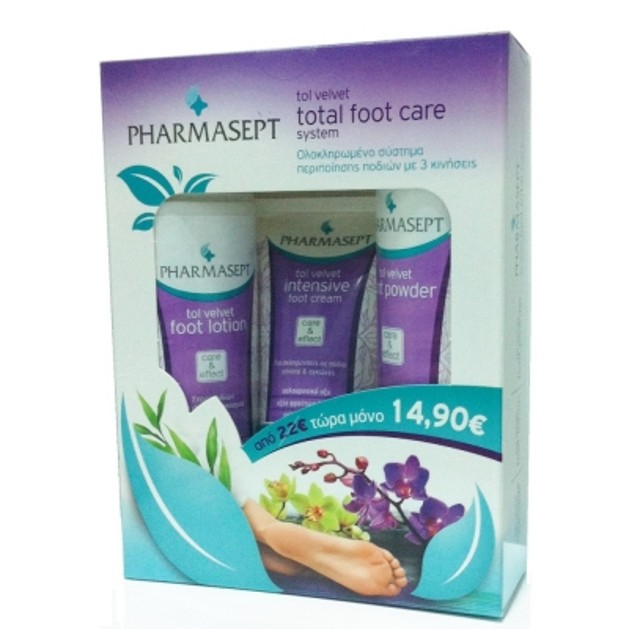 Pharmasept Tol Velvet Total Foot Care System