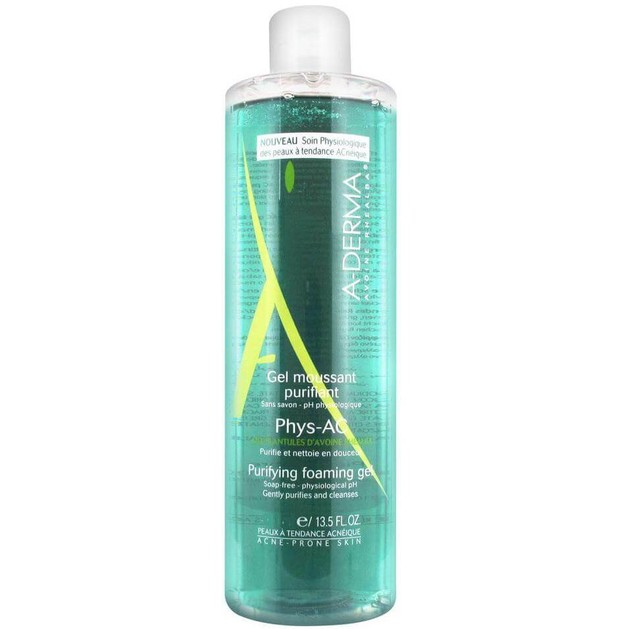 Δώρο A-derma Phys-AC Gel Moussant Purifiant Εξυγιαντικό Αφρίζον Gel Καθαρισμού Προσώπου 25ml
