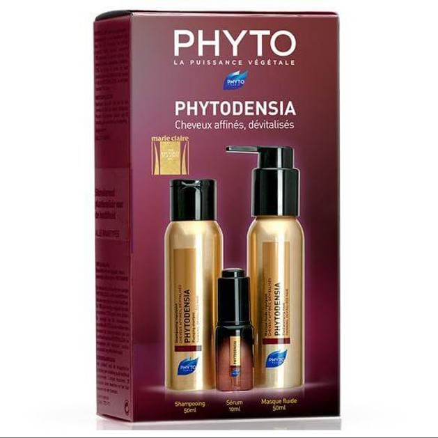 Phyto Πακέτο ΠροσφοράςPhytodensia Shampooing 50ml & Serum 10ml & Masque 50ml για Λεπτά, Αδύναμα & Άτονα Μαλλιά