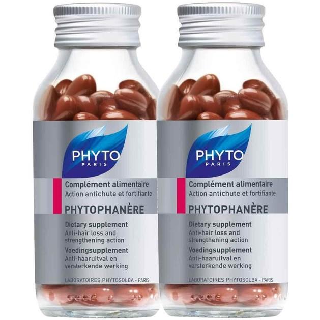 Phyto Phytophanere Ολοκληρωμένο Συμπλήρωμα Διατροφής με Σύμπλεγμα Βιταμινών για Τριχόπτωση και Ενδυνάμωση 1+1 Δώρο 2 x 120 caps