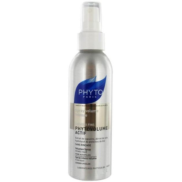 Phyto Phytovolume Actif Spray Volume Intense Χαρίζει Πλούσιο Όγκο στα Λεπτά & Αδύναμα Μαλλιά Travel Size 50ml