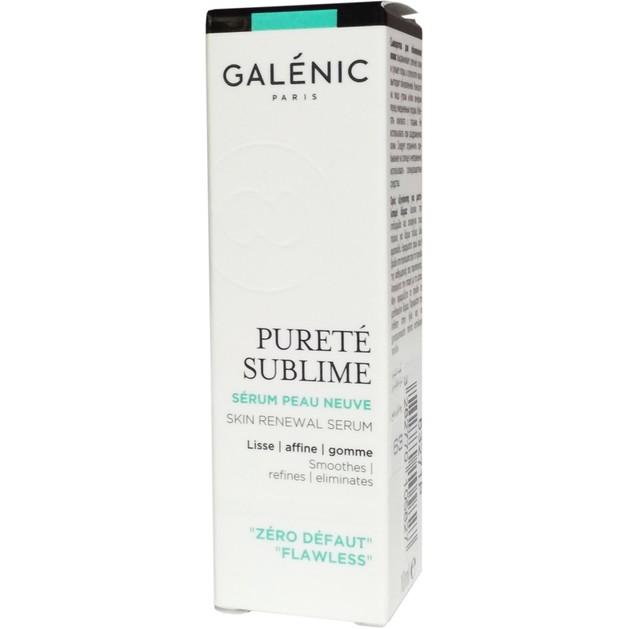 Δώρο Galenic Mini Sizer Purete Sublime Serum Peau Neuve Ορός Εξυγίανσης για Λείανση της Επιδερμίδας 10ml