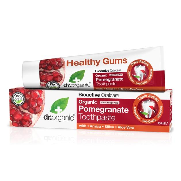 Dr.Organic Organic Pomegranate Toothpaste 100ml