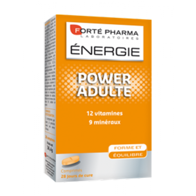 Forte Pharma Energy Power Adult 28Tabs