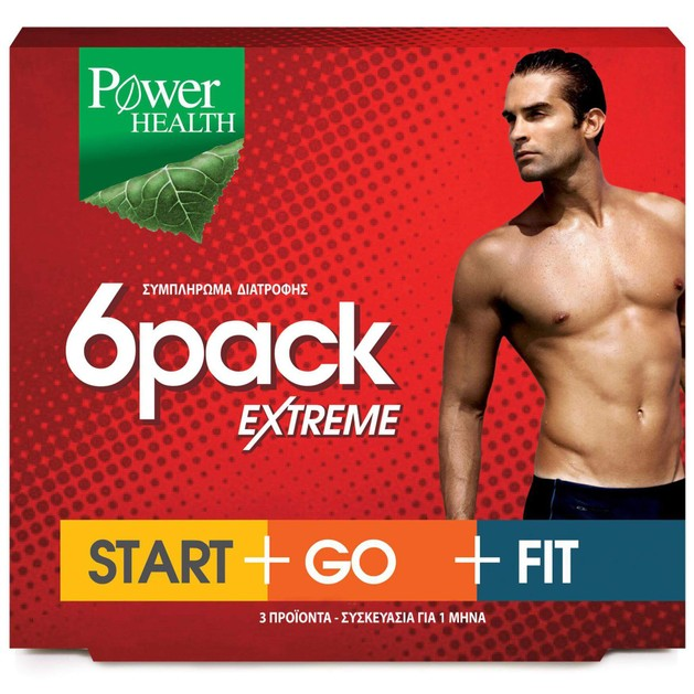 6Pack Extreme Start+Go+Fit 3x30caps - Power Health