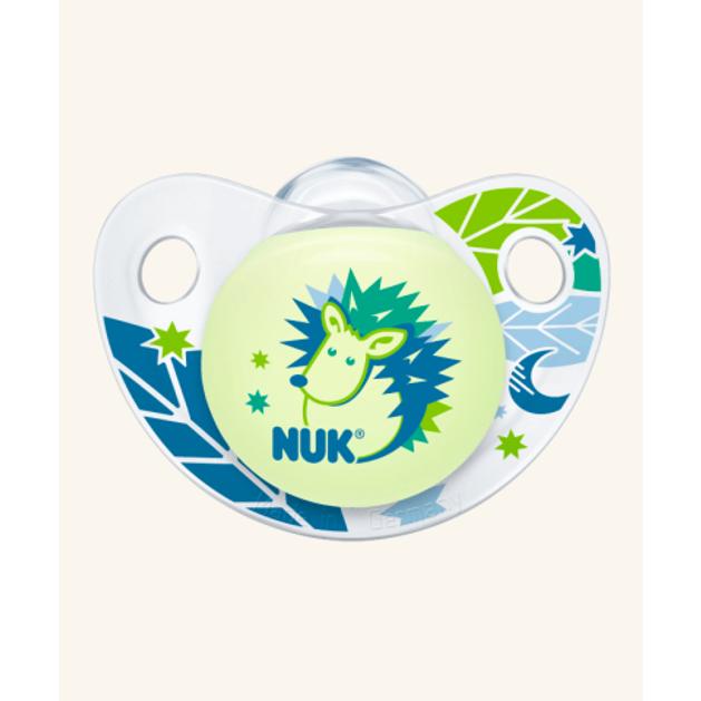 Nuk Trendline Night & Day Πιπίλα Σιλικόνης Χωρίς Κρίκο 1τμχ