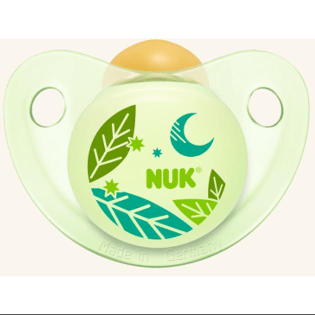 Nuk Trendline Night & Day Πιπίλα Καουτσούκ