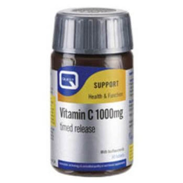 Quest Vitamin C 1000mg - Timed Released, 30 tabs