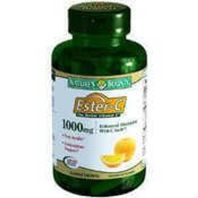 Nature\'s Bounty Ester-C 1000mg ιταμίνη C Σε Μορφή Που Αποδεσμεύεται Σταδιακά Στον Οργανισμό 30tabs