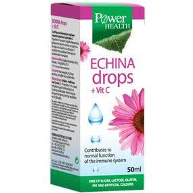 Power Health Echina Drops Vitamin C 50ml