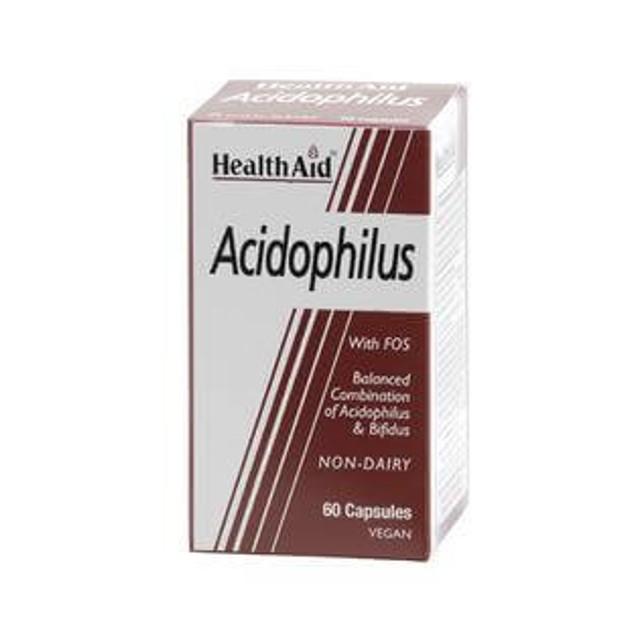 Health Aid Acidophilus (+bifidus) 100 million 60caps