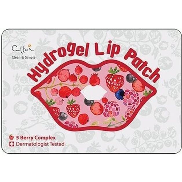 Vican Cettua Clean & Simple Hydrogel Lip, Επίθεμα για την Ενυδάτωση & Τόνωση των Χειλιών, 1 τμχ