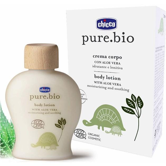 Chicco Pure Bio Body Lotion With Aloe Vera 100ml