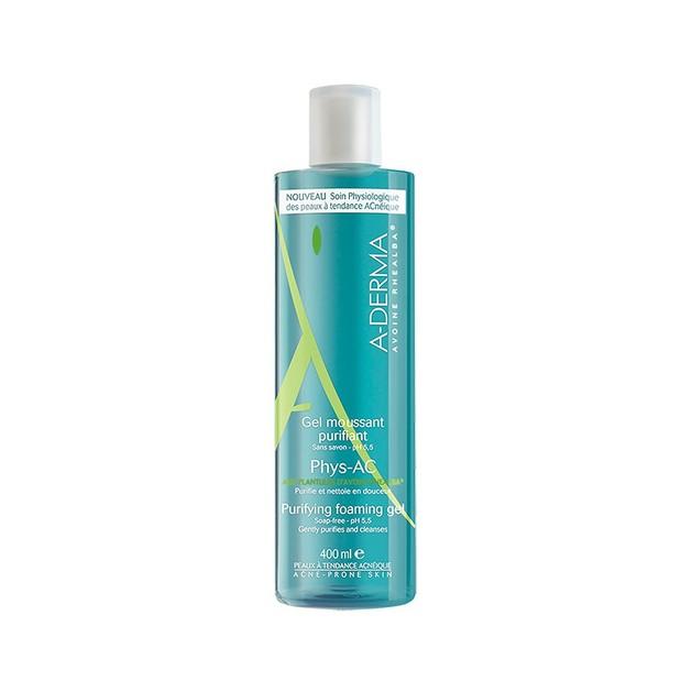 A-Derma Phys-AC Gel Moussant Purifiant 400ml Promo -20%