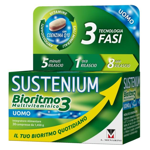 Menarini Sustenium Biorhythm3 Men Συμπλήρωμα Διατροφής Πολυβιταμινών για Κάλυψη των Αναγκών του Ανδρικού Οργανισμού 30caps