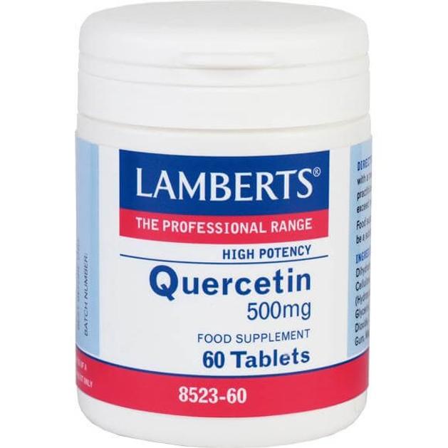 LambertsQuercetin 500mg 60 tabs
