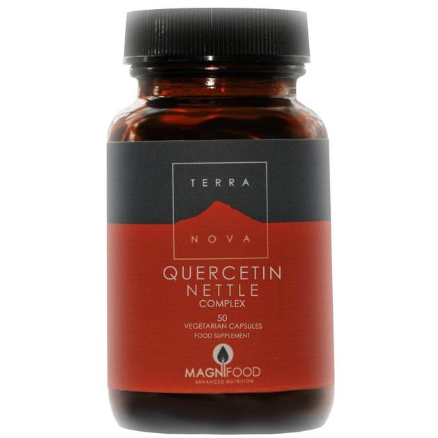 Terranova Quercetin Nettle Complex Ο πιο Ολοκληρωμένος Φυσικός Συνδυασμός Κατά των Αλλεργιών 50veg.caps
