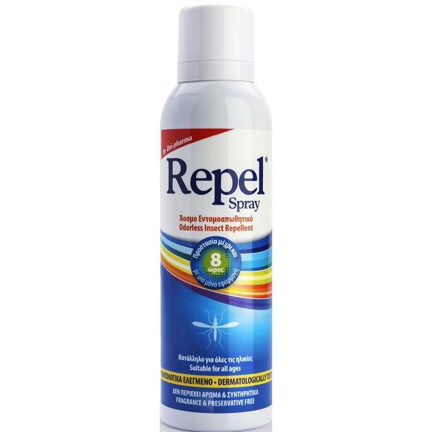 Uni-Pharma Repel Spray Άοσμο Εντομοαπωθητικό Spray 100ml