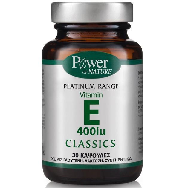 Power Health Platinum Vitamin E 400iu 30caps