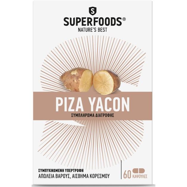 Ρίζα Yacon 60 Κάψουλες - Superfoods