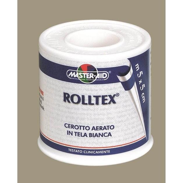 Master Aid Roll Tex Ρολλό Υφασμα Σε Λευκό Χρώμα