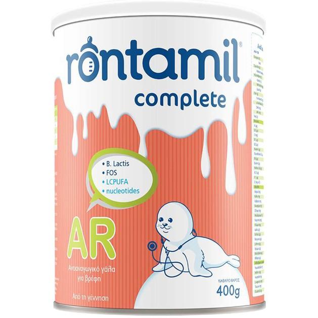 Rontamil AR Complete Διαιτητικό Τρόφιμο για την Αντιμετώπιση των Βρεφικών Αναγωγών από την Γέννηση 400gr