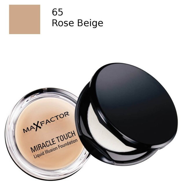 Max Factor Miracle Touch Foundation 65 Rose Beige (make up)