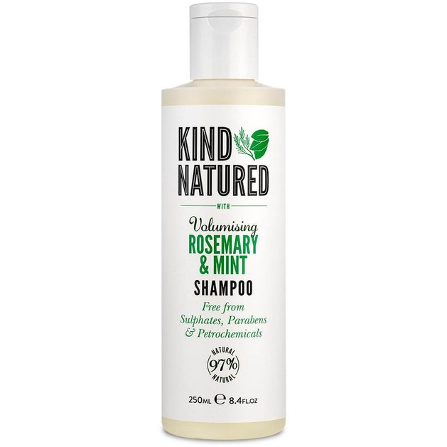 Kind Natured Volumising Shampoo Rosemary & Σαμπουάν για Πλούσιο Όγκο στα Λεπτά Άτονα Μαλλιάμε Δεντρολίβανο & Μέντα 250ml
