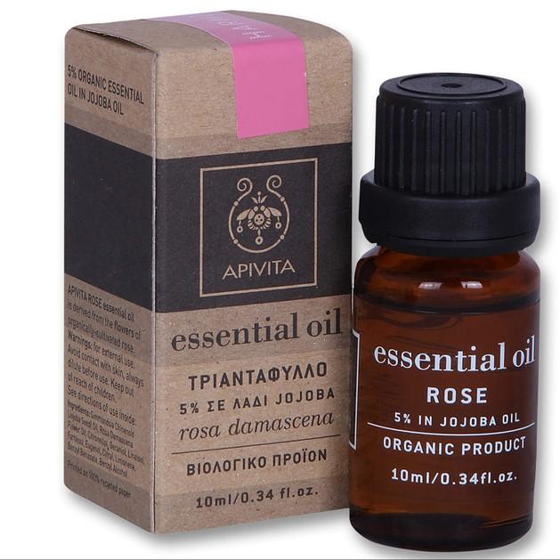 Apivita Essential Oil Rose Τριαντάφυλλο 10ml