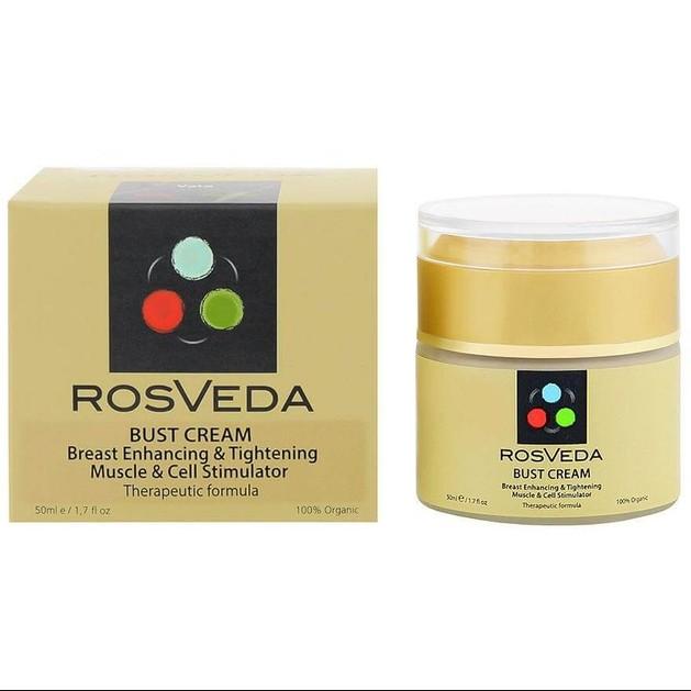 RosVeda Bust Cream 100% Φυτική Σύνθεση Για Σύσφιξη & Ανόρθωση Στήθους 50ml