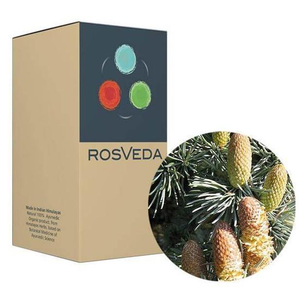 RosVeda Pure Essential Oil Cedar, 100% Φυτική Σύνθεση, Αιθέριο Έλαιο Κέδρου 10ml