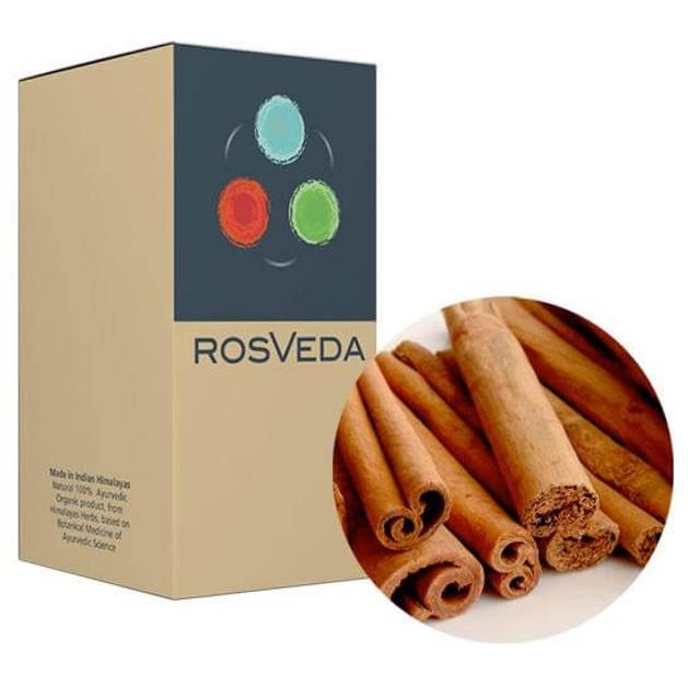 RosVeda Pure Essential Oil Cinnamon, 100% Φυτική Σύνθεση, Αιθέριο Έλαιο Κανέλα 10ml