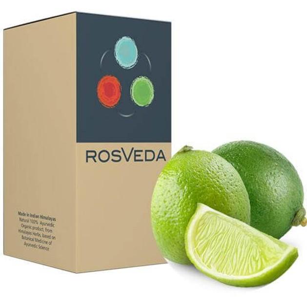 RosVeda Pure Essential Oil Lemon Peel 100% Φυτική Σύνθεση, Αιθέριο Έλαιο Μοσχολέμονο 10ml
