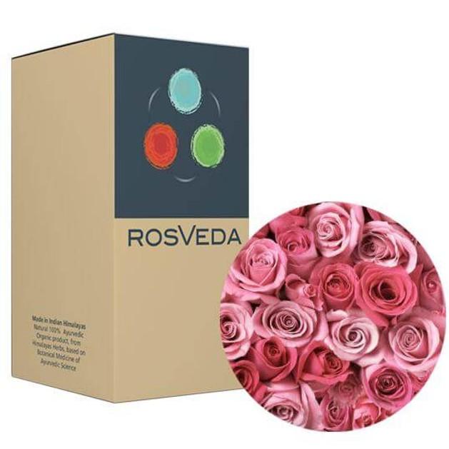 RosVeda Pure Essential Oil Rose, 100% Φυτική Σύνθεση, Αιθέριο Έλαιο Τριαντάφυλλο 10ml