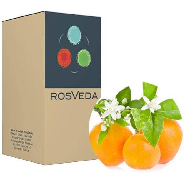RosVeda Pure Essential Oil Sweet Orange 100% Φυτική Σύνθεση, Αιθέριο Έλαιο Πορτοκάλι 10ml