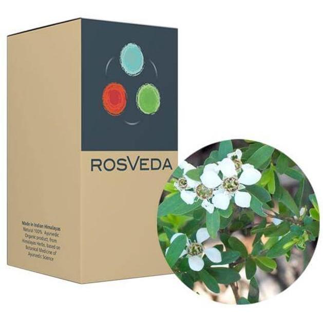 RosVeda Pure Essential Oil Tea Tree, 100% Φυτική Σύνθεση, Αιθέριο Έλαιο Τεϊόδενδρο 10ml