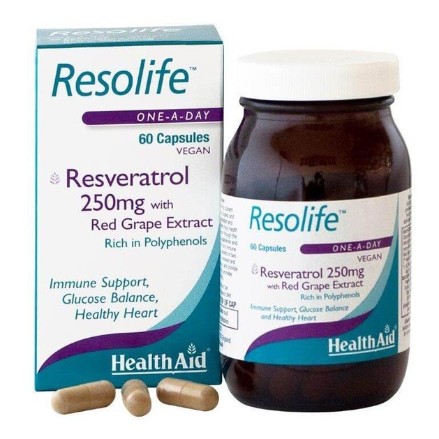 Health Aid Resolife 250mg 60caps