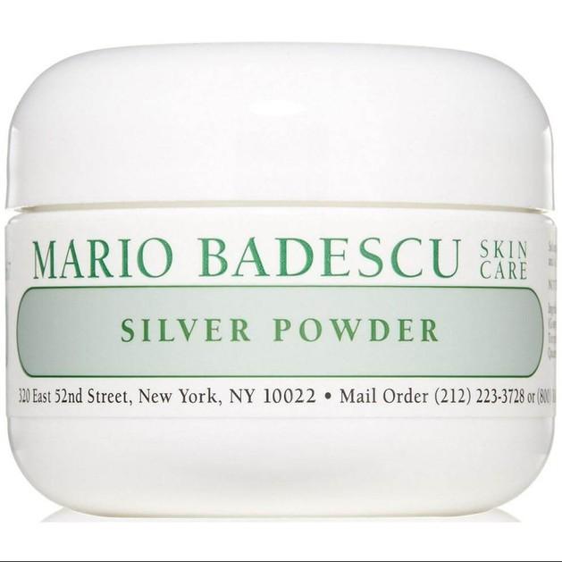 Mario Badescu Silver Powder Απορροφητική Πούδρα για την Λιπαρότητα, την Έντονη Ακμή & τα Έντονα Μαύρα Στίγματα 29g
