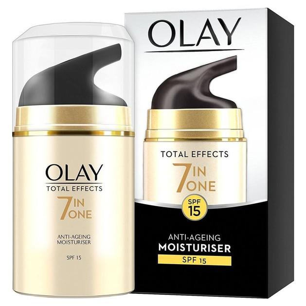 Olay Total Effects 7 in One Anti-AgeingMoisturiser Spf15 Ενυδατική & Αντιγηραντική Κρέμα Ημέρας 50ml