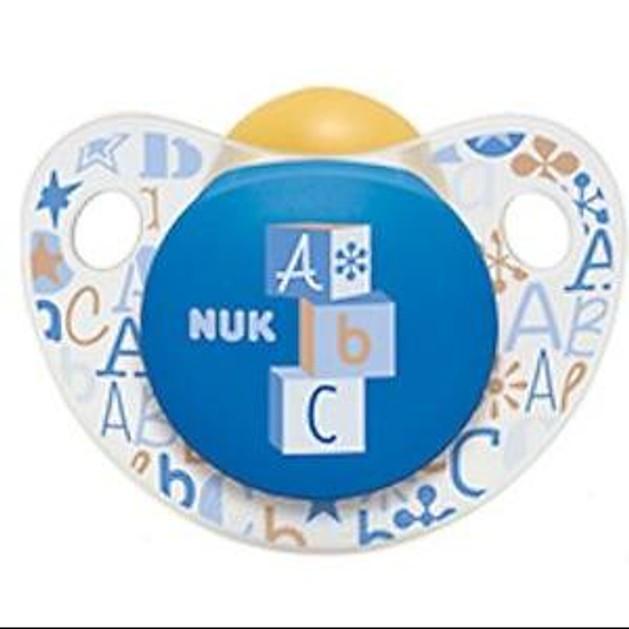 Nuk Trendline Adore Πιπίλα Καουτσούκ Χωρίς BPA