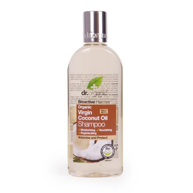 Dr.Organic Organic Virgin Coconut Oil Shampoo 265ml