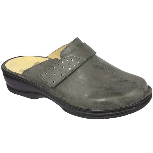Scholl Shoes Genziana Γκρι Γυναικείες Ανατομικές Παντόφλες, Χαρίζουν Σωστή Στάση & Φυσικό Χωρίς Πόνο Βάδισμα 1 Ζευγάρι