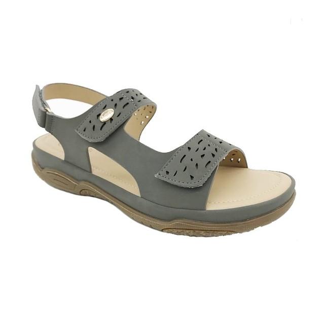 Scholl Shoes Athena Grey Γυναικεία Ανατομικά Παπούτσια Χαρίζουν Σωστή Στάση & Φυσικό Χωρίς Πόνο Βάδισμα 1 Ζευγάρι