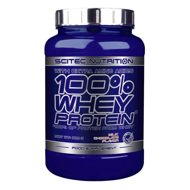 Scitec Nutrition 100% Whey Protein Πρωτεΐνης με Υπέρ-φιλτραρισμένο Ορό Γάλακτος 920g
