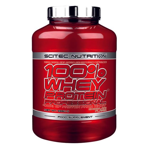 Scitec Nutrition 100% Whey Protein Professional Υπέρ-φιλτραρισμένη Πρωτεΐνη Ορού Γάλακτος με Πρόσθετα Συστατικά 2350g