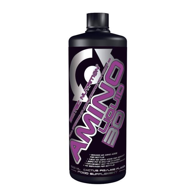 Scitec Nutrition Amino Liquid 50 Φόρμουλα για «Αμεση Τροφοδοσία» Υγρών Αμινοξέων 1000ml