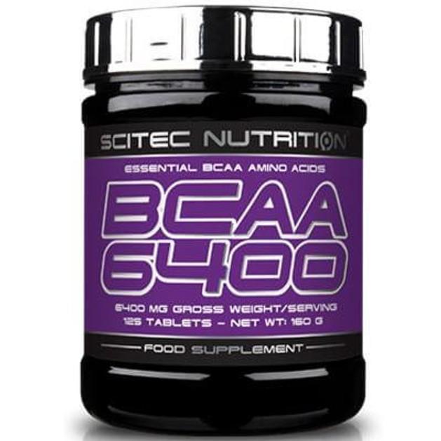 Scitec Nutrition BCAA 6400 Αμινοξέα Διακλαδισμένης Αλυσίδας 125tabs