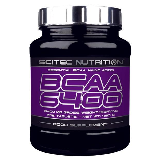 Scitec Nutrition BCAA 6400 Αμινοξέα Διακλαδισμένης Αλυσίδας 375tabs