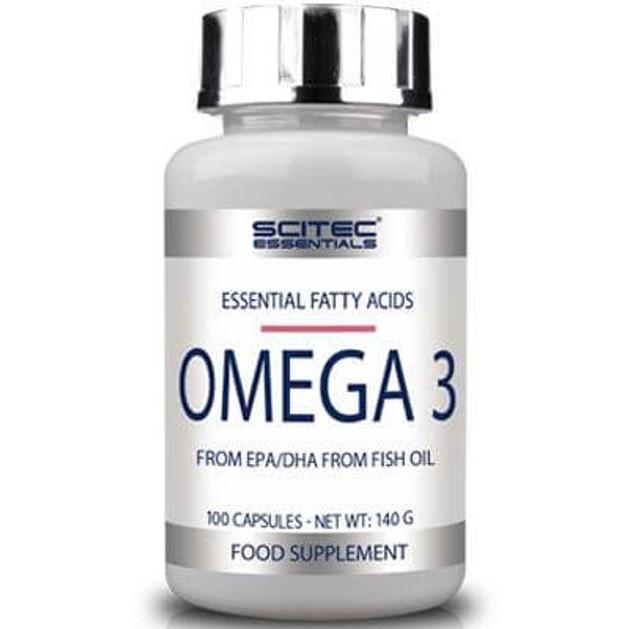 Scitec Essentials Omega 3 φόρμουλά λιπαρών οξέων 100caps