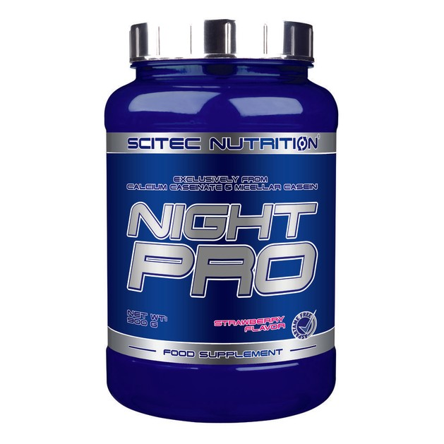 Scitec Nutrition Night Pro Βραδείας Απελευθέρωσης / Πρωτεΐνες Καζεΐνης 900g
